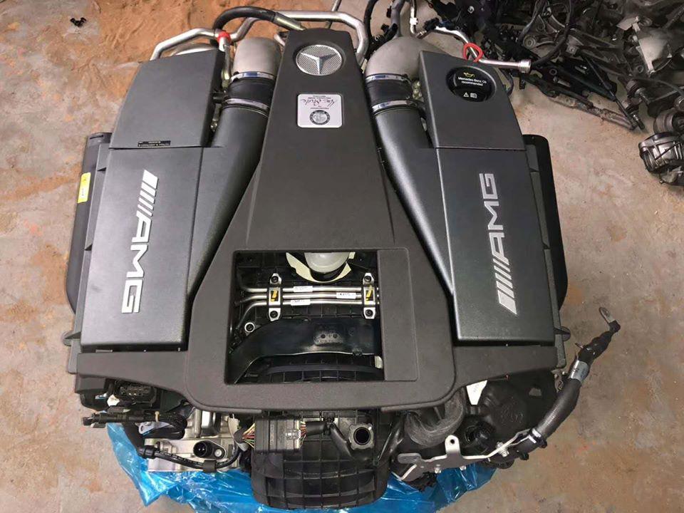 động cơ Mercedes-benz AMG