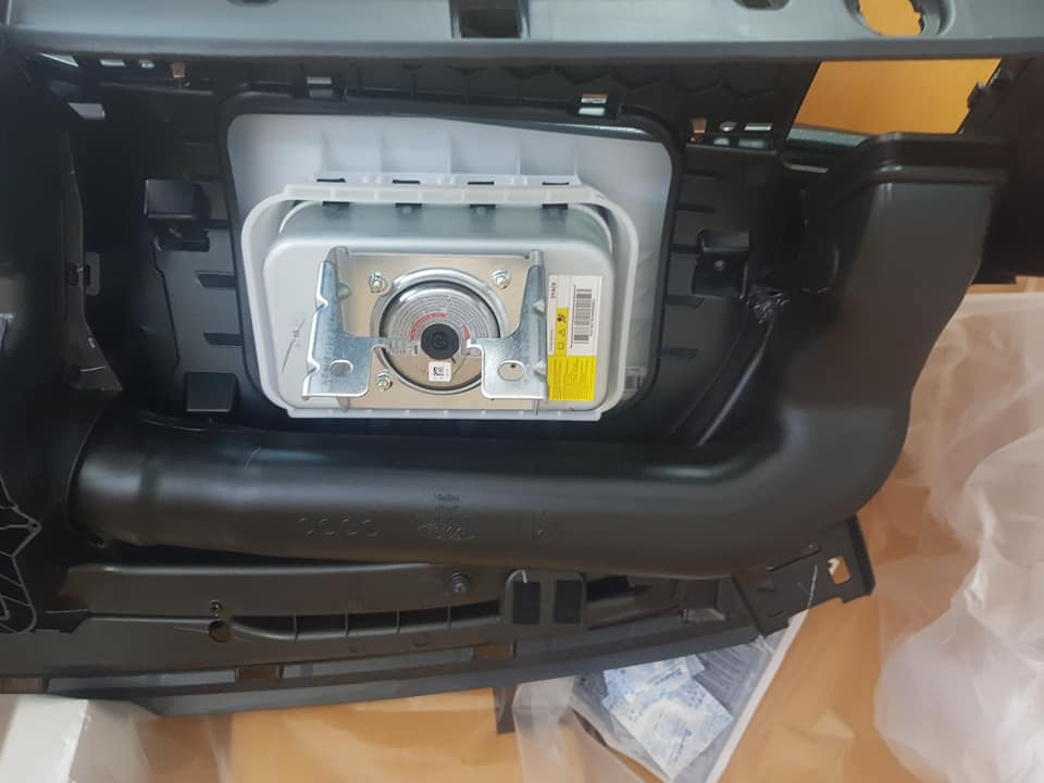 túi khí phụ ford ranger 2019